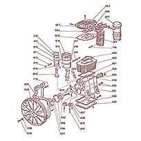 Расходники и запчасти к компрессорам и компрессорному оборудованию
