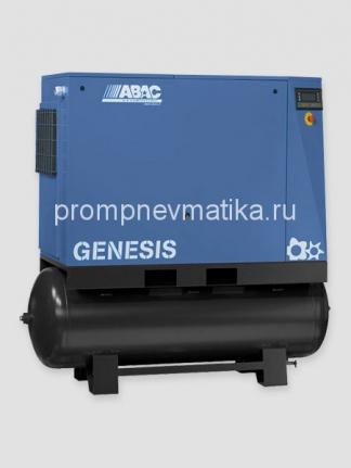 Винтовой компрессор Abac Genesis 18,513-500 с осушителем и предварительным фильтром на ресивере 500 литров
