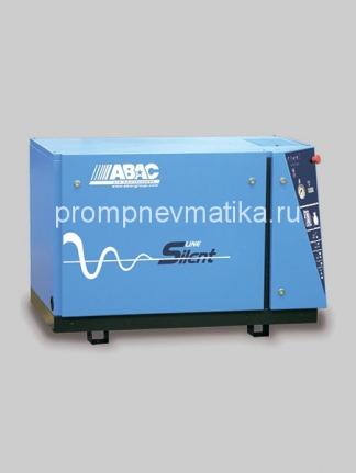 Малошумный поршневой компрессор ABAC B7000/LN/T10 на опорной раме