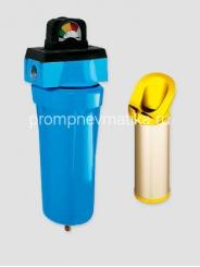 """Магистральный фильтр KRAFTMANN KF12-BUF-DG1 с индикатором """"манометр"""" и автоматическим сливом конденсата"""