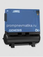 Винтовой компрессор Abac Genesis 2208-500 с осушителем и предварительным фильтром на ресивере 500 литровом на ресивере 500 лит