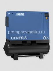 Винтовой компрессор Abac Genesis 18,5 с осушителем и предварительным фильтром на ресивере 500 литров