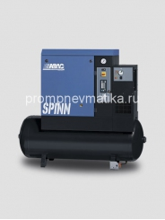 Винтовой компрессор Abac Spinn 7.5 ST стартер звезда-треугольник осушитель сжатого воздуха, на ресивере 270 литров