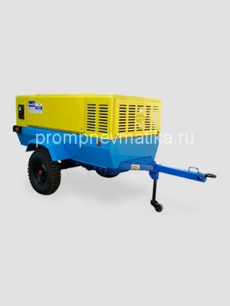 Дизельный компрессор ПКСД-5,25 Полтавского турбомеханического завода