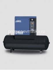 Винтовой компрессор Abac Spinn 5.5 ST NEW стартер звезда-треугольник, на ресивере 500 литров
