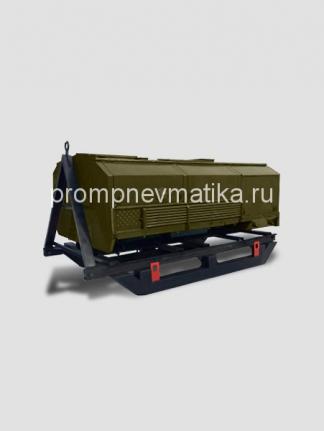 Компрессор высокого давления УКС-400В на санях