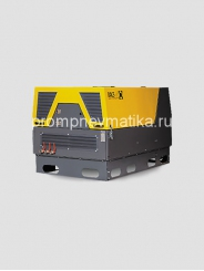 Дизельный винтовой компрессор COMPRAG DACS 4S (на раме)
