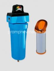 """Магистральный фильтр KRAFTMANN KF06-BSF-DG1 с индикатором """"манометр"""" и автоматическим сливом конденсата"""