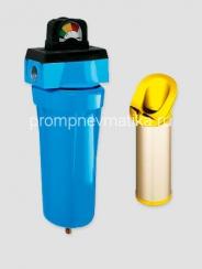 """Магистральный фильтр KRAFTMANN KF10-BUF-DG1 с индикатором """"манометр"""" и автоматическим сливом конденсата"""