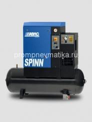 Винтовой компрессор Abac Spinn 5.5 ST стартер звезда-треугольник, осушитель, на ресивере 200 литров