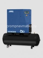 Винтовой компрессор Abac Genesis 1508-500 с осушителем и предварительным фильтром на ресивере 500 литров