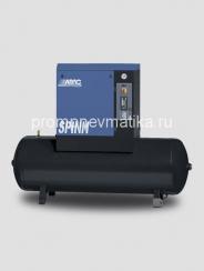 Винтовой компрессор Abac Spinn 11 ST стартер звезда-треугольник, на ресивере 270 литров