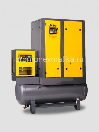 Винтовой компрессор COMPRAG ARD-07 с рефрижераторным осушителем, на ресивере 270 литров