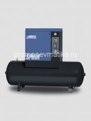 Винтовой компрессор Abac Spinn 7.5 ST стартер звезда-треугольник, на ресивере 500 литров