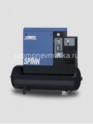 Винтовой компрессор Abac Spinn 5.5 ST NEW стартер звезда-треугольник, осушитель сжатого воздуха, на ресивере 270 литров