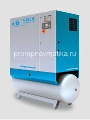 Винтовой компрессор KRAFTMANN VEGA 18 c осушителем и дополнительными фильтрами на ресивере 500 литров