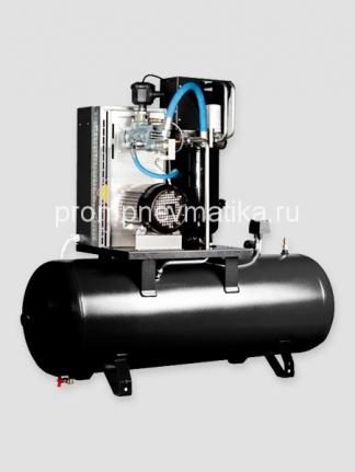 Винтовой компрессор Abac Micron 4 380В прямой пуск на ресивере 200 литров